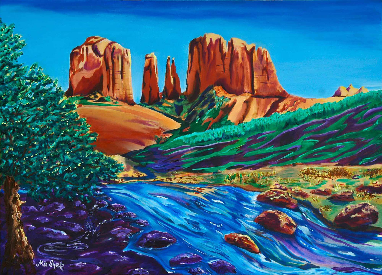 Cathedral Rock by McShep